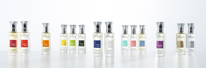 Altearah Bio's 14 care fragrances